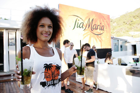 Tia Maria new cocktail launch in Blue Marlin Ibiza